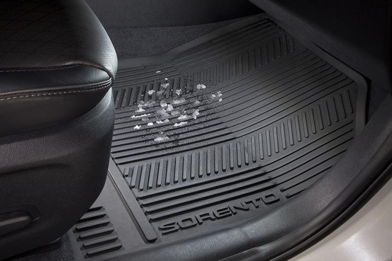 Weather Floor Mats >> 2019 Sorento 3rd Row Floor Mats All Weather Kia Accessory Guide