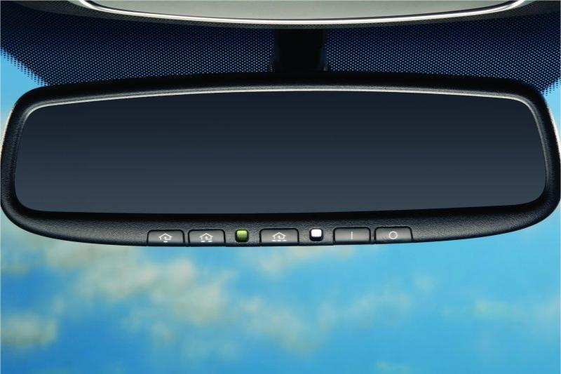 Auto Dimming Mirror W Homelink 174 Amp Compass Kia Accessory